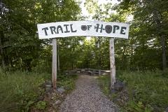 Hikiing trail