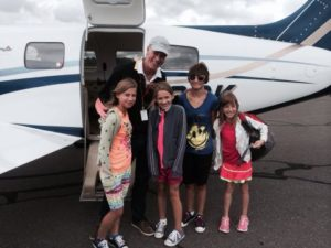 7.14.2014_Mia, Tessa, Chloe, & Krista Lewis from Valparaiso,IN_Heartland_Pilot Gregg Ostrander